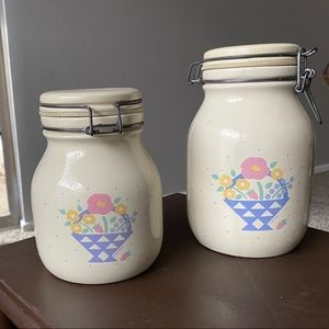 80s clasp canisters